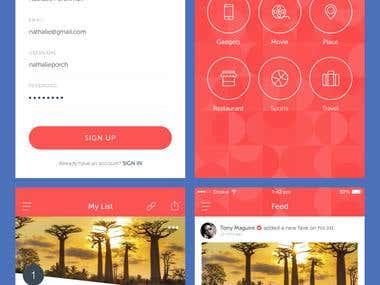 Tenmost App UI / UX Design