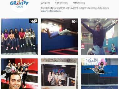 Gravity Code Social Media