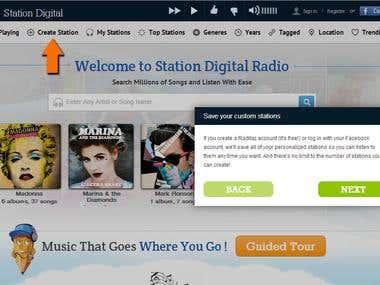 New version of stationdigital.com