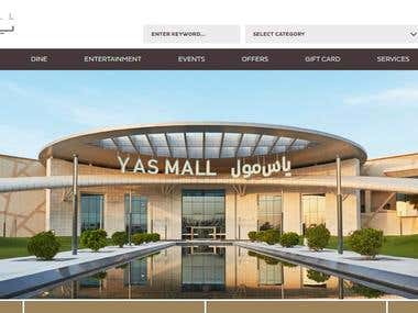 Mall Website