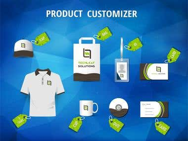 Experienced in E-Commerce Product Customizer