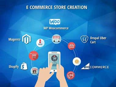 Expert in E-Commerce Store Creation