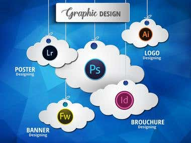 Expert in Graphic Designing