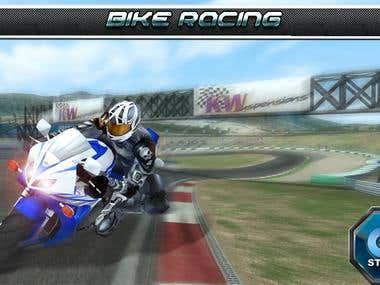 Mobile Game: BikeRacing
