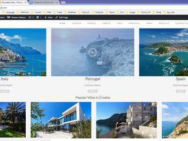 WordPress: Travelo Theme Customize
