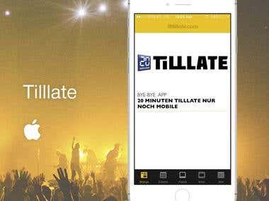 Tilllate