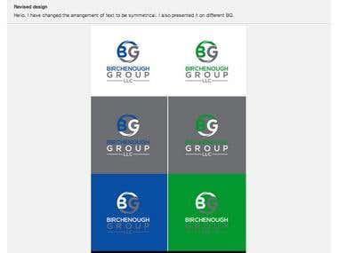 Birchenough Group Logo Design