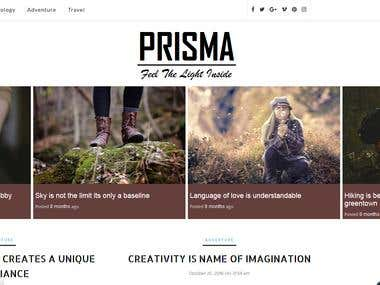 Prisma Responsive WordPress Theme