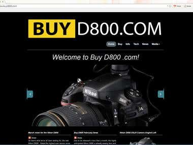 Buy D 800 Camera Website