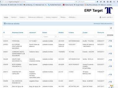 ERP Target