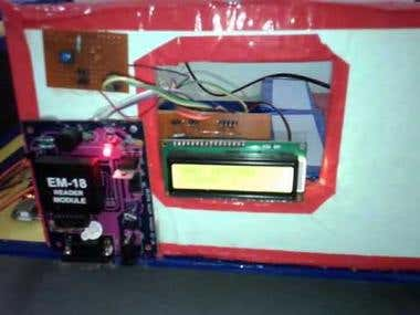 Microcontroller based RFID