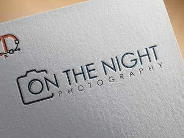 On The Night Photography Logo