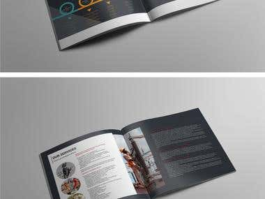 Electrical Contractor Profile brochure design