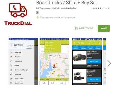 Book Trucks Ship + Buy Sell