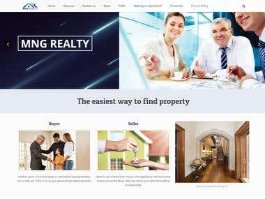 Property selling and buying website