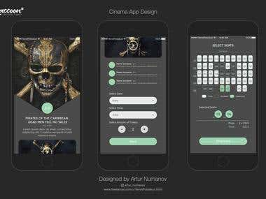 Cinema App Design