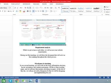 Editing of published webpages