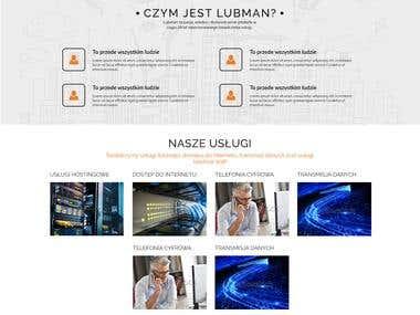 LubMAN - Website new design