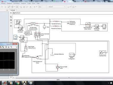 Matlab Hydraulic System Modelling