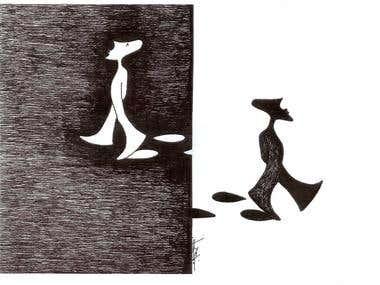 caricature & logo design