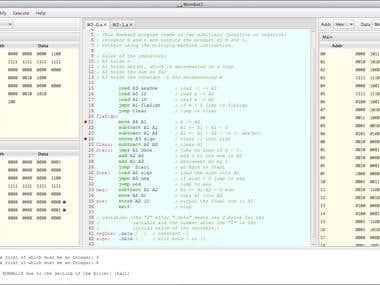18-bit ISA simulation in CPU Sim