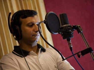 Voice Over and Narration Recording