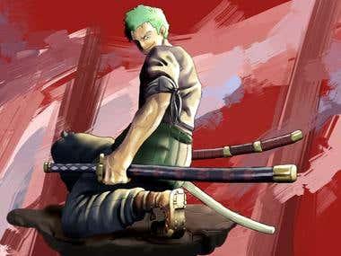 Manga character design