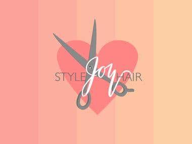 Logo Design for Style Joy Hair