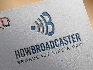 HowBroadcaster Logo