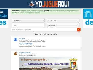 Yojugueaqui: reunete con viejos compañeros de equipo