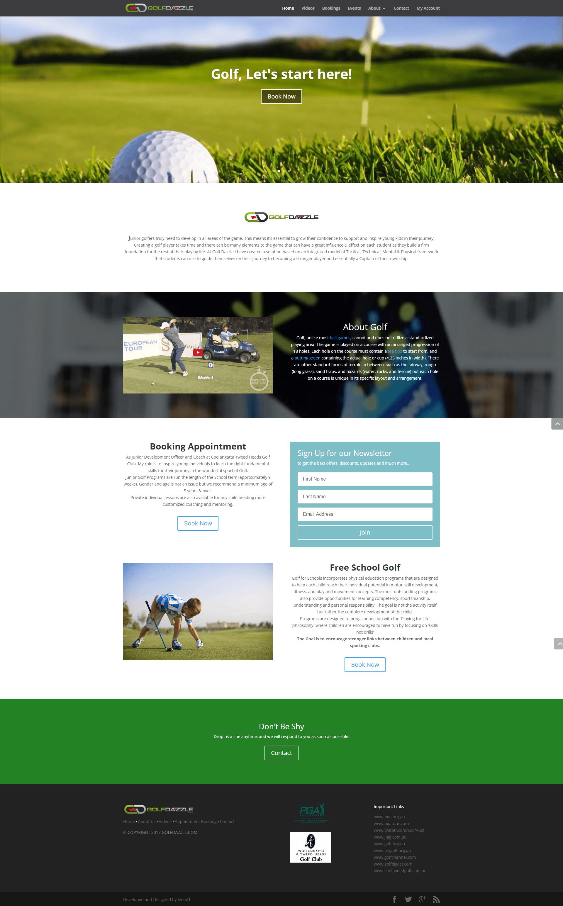 Golfdazzle.com