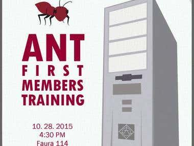 Member Training Poster