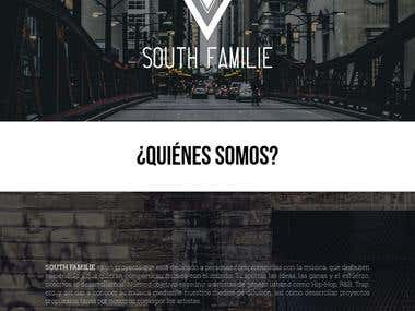 Musical Colective Web Page (South Familie)