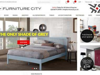 Furniturecity E-commerce store