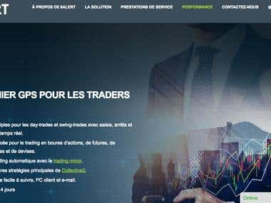 Translation financial web from English to French and Spanish