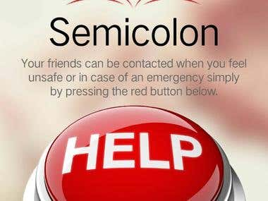 Android/iPhone SemicolonApp