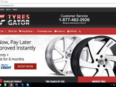 Great Deals on Tires and Wheels(Wordpress)