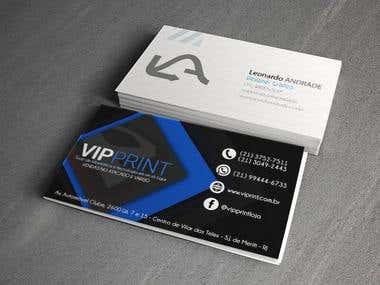 Cartão de visita - Vip Print