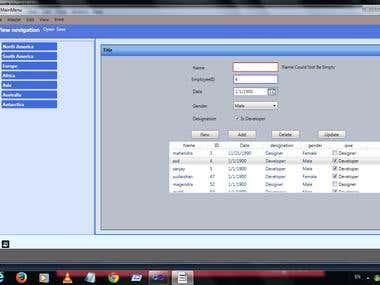 WPF Windows Desktop Application