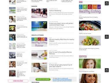 Health and fashion blog