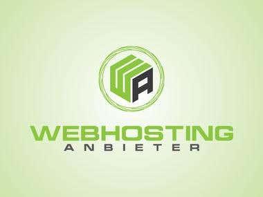 Design a logo for 'Webhosting Anbieter'