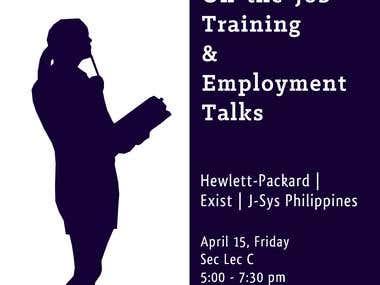 OJT Talk Poster