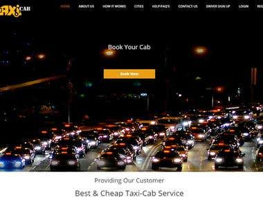 Findtaxicab website with Android and Iphone