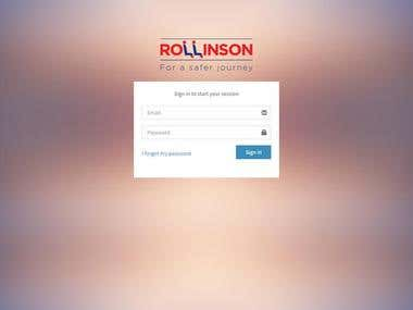 Rollinson Taxi, school bus, tour bus app with android and ip