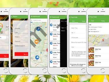 iOS food app