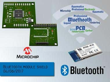 Bluetooth Module RN42 Shield(In repairing)