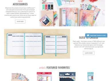 E- Shopping Website Laravel