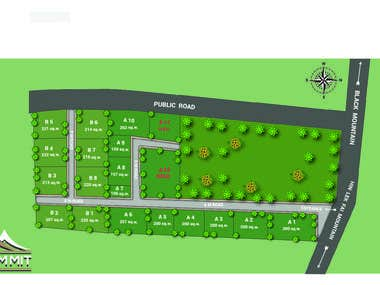3D master plan design design