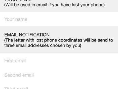 Don't lose your iPhone! - DropDetector