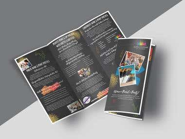 Brochure, Menu, Book Cover Designs